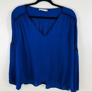 Lush | Royal Blue Blouse